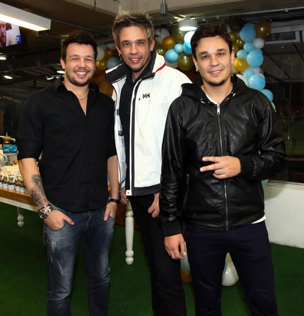 Bruno, Kiko e Leandro, do KLB (Foto: Marcos Ribas/Brazil News)