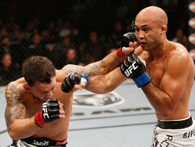 Frankie Edgar BJ Penn TUF 19 Finale UFC (Foto: Getty Images)