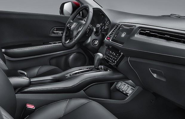 Honda divulga primeiras imagens oficiais do interior do hr for Honda hr v interieur