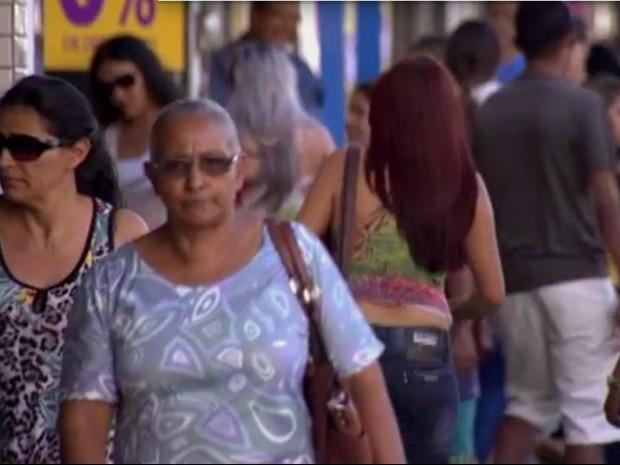 Campo Grande ganhou 10.502 habitantes em 2015 em relação a 2014, segundo estimativa do IBGE (Foto: Reprodução/TV Morena)