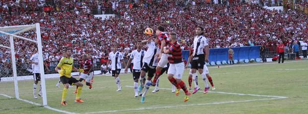 Campinense 2 x 0 ASA, final da Copa do Nordeste no Estádio Amigão, em Campina Grande (Foto: Magnus Menezes / Jornal da Paraíba)
