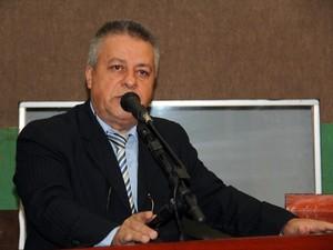 O vereador Chico 2000 (PR), primeiro secretário da Câmara de Cuiabá. (Foto: Luiz Alves/Câmara de Cuiabá)