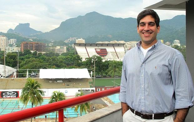 Rafael Strauch, novo vice-presidente da secretaria geral do Flamengo (Foto: Janir Júnior)