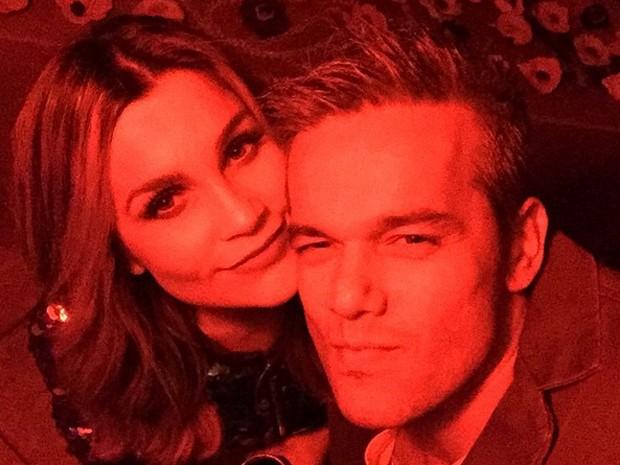 Caras e bocas do casal (Foto: Arquivo pessoal)