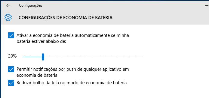 Alterando as configurações de economia de bateria do Windows (Foto: Reprodução/Edivaldo Brito)
