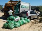Veja como será esquema de coleta de lixo no Réveillon em Florianópolis