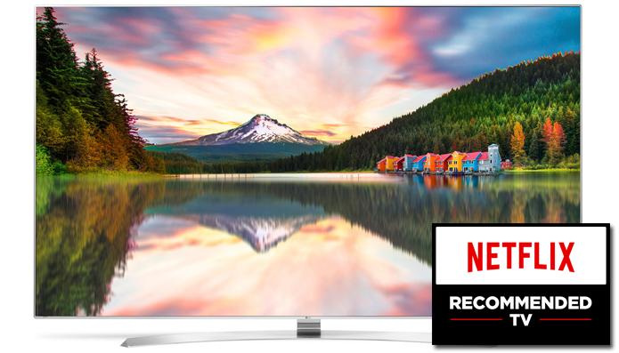 LG UH9500 é um dos televisores aprovados pelo teste da Netflix (Foto: Divulgação/LG)