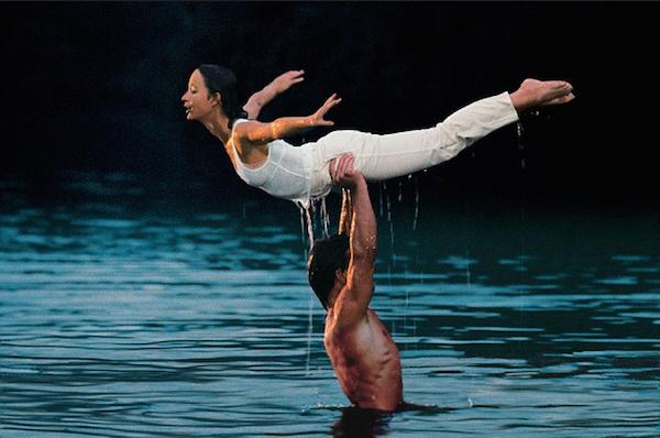 Jennifer Grey e Patrick Swayze na cena clássica de 'Dirty Dancing' (Foto: Reprodução)