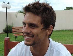 Rodrigo Caio, zagueiro do São Paulo (Foto: Ronaldo Nascimento / GloboEsporte.com)