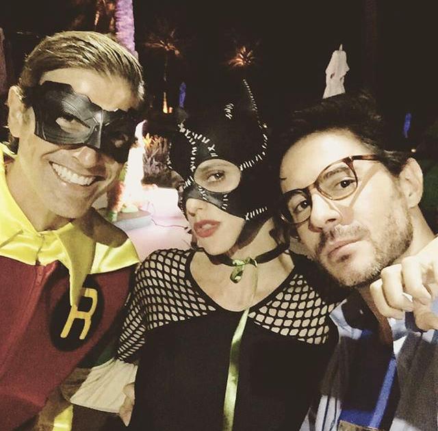 E vai rolar a festa: Reynaldo Gianecchini, Fernanda Lima e Ricardo Tozzi (Foto: Reprodução Instagram)