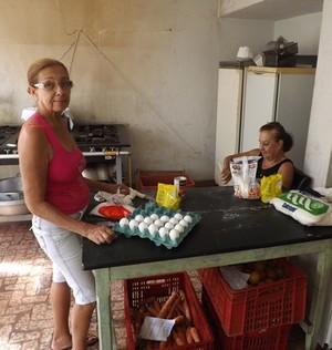 Cozinheiras tanabi cabañas (Foto: Marcos Lavezo)