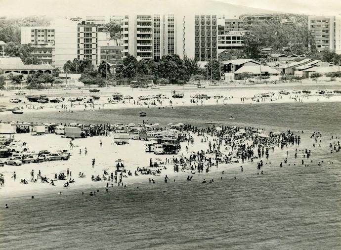 Curva da Jurema em 1984 (Foto: Jose A. Magnago)