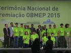 Alunos da região ganham 6 medalhas de ouro na Olimpíada de Matemática
