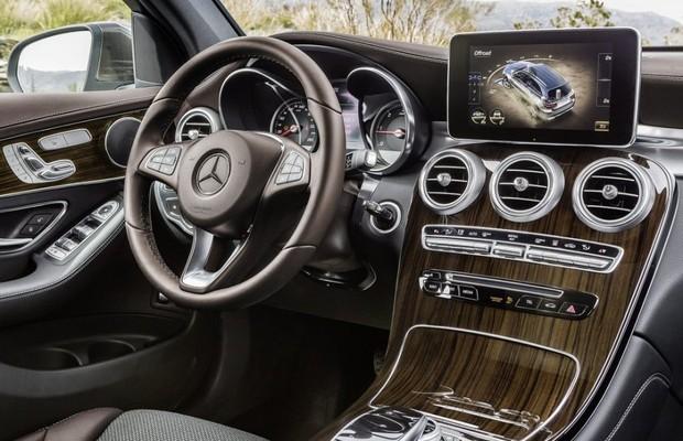 Mercedes-Benz GLC (2016) (Foto: Divulgação)