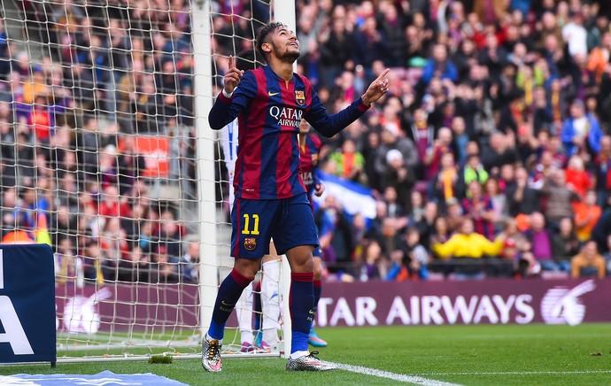 Neymar gol Barcelona (Foto: Getty Images)