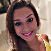 Dayane Amaral do conjunto brasileiro de GR (Foto: Reprodução/Instagram)