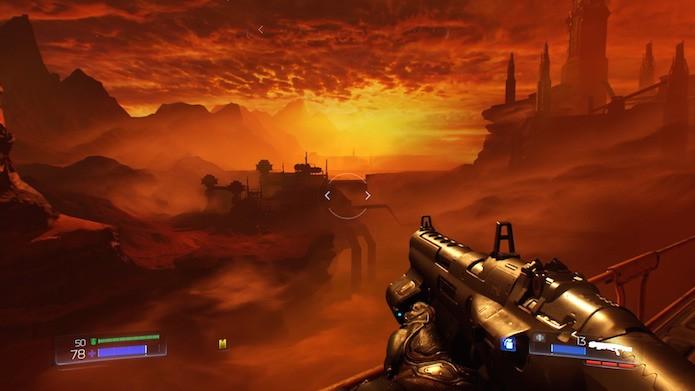 Doom capricha nas texturas, sombras e iluminação (Foto: Reprodução/Victor Teixeira)