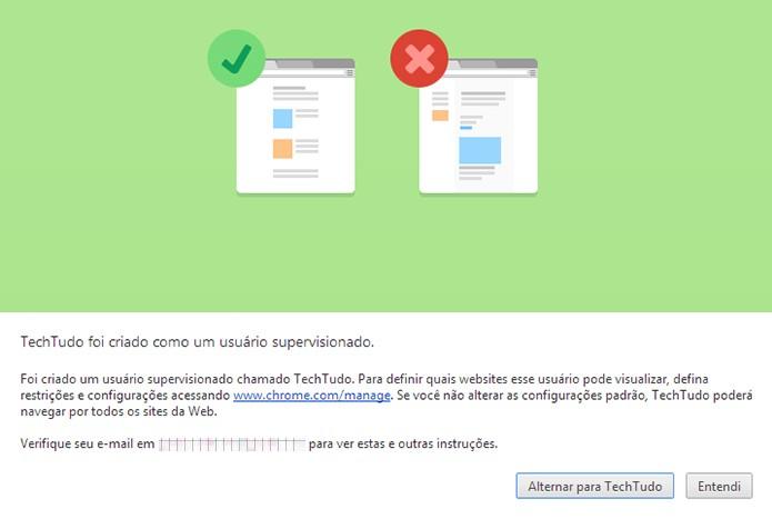 Importação de usuários é uma das principais novidades do novo Chrome (Foto: Reprodução/Paulo Alves)