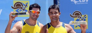 Hevaldo e Bruno vôlei de praia Goiânia (Foto: Divulgação / CBV)