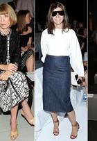 Veja as famosas que arrasaram no estilo na primeira fila dos desfiles da Semana de Moda de Nova York