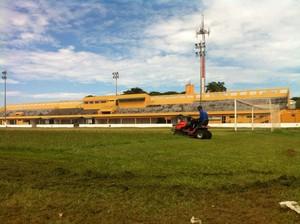 Estádio Presidente Dutra em Cuiabá (Foto: Lucas de Senna/TVCA)