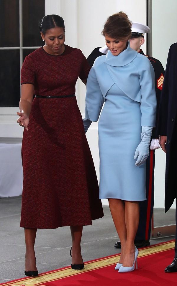 Michelle Obama e Melania Trump (Foto: Getty Images)
