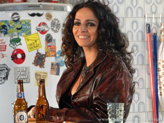 Claudia Ohana participa do Especial Dia das Mães (Foto: Louco por Elas / TV Globo)