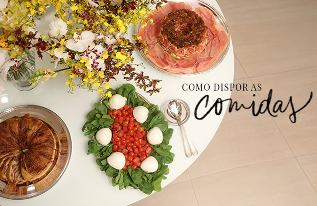 5 dicas para montar um buffet ideal casa vogue comida for Utensilios para servir comida