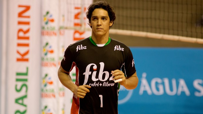 Alan Líbero Campinas Vôlei (Foto: Divulgação/ Brasil Kirin)
