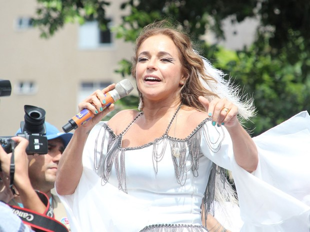 Daniela Mercury (Foto: Emmanuel Carneiro/Ag Haack)