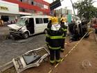 Quatro veículos se envolvem em acidente na Região Noroeste de BH