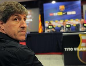 Jordi Roura auxiliar técnico Barcelona (Foto: AFP)