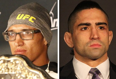 Ricardo Lamas x Charles do Bronx  (Foto: Getty )