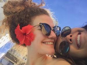 Meninas de Araguaína foram duo de sucesso na internet (Foto: Reprodução/Facebook)
