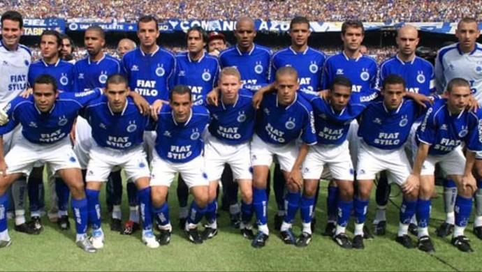 Augusto Recife Cruzeiro 2003 (Foto: Site Oficial Cruzeiro)