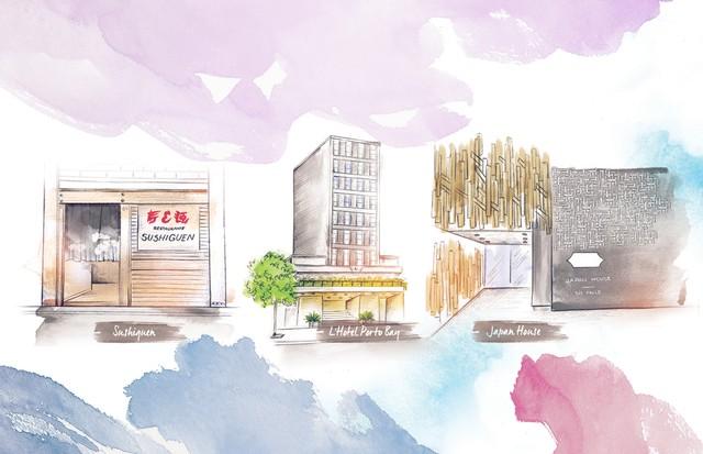 ROTA DA PAULISTA: Cinco programas para curtir a região da cidade: (Foto: Divulgação. Ilustração: Camila Gray)