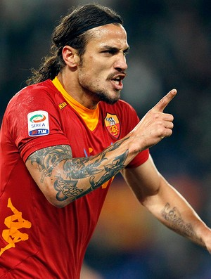 Osvaldo - Roma x Udinese (Foto: Agência Reuters)