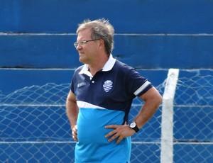 Beto Almeida, técnico do CSA (Foto: Caio Lorena / Globoesporte.com)