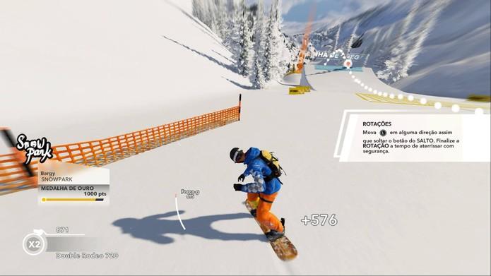 Como jogar Steep, jogo de esportes radicais da Ubisoft (Foto: Reprodução/Felipe Vinha)