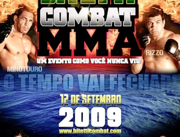 Poster Bitetti Combat 4 (Foto: Divulgação)