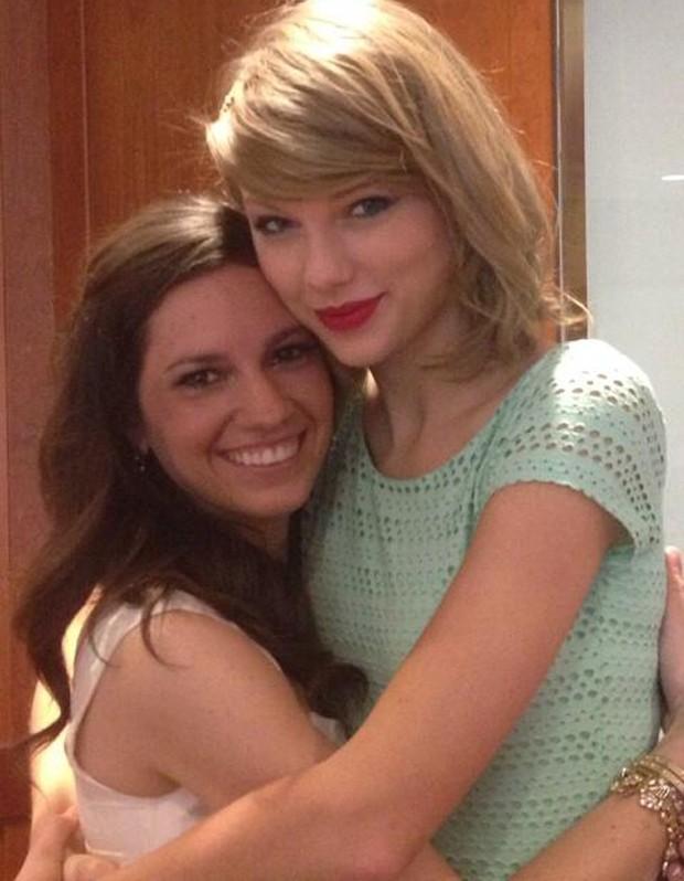 Gena Gabrielle e Taylor Swift (Foto: Reprodução/Twitter)