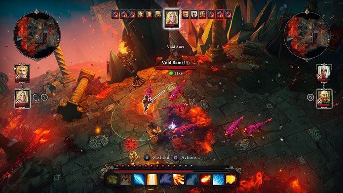 Nova versão do jogo não trouxe melhorias gráficas, mas corrigiu bugs (Foto: Divulgação / Larian Studios)