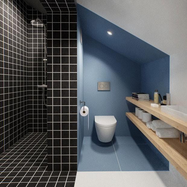 10 banheiros com tons de azul casa vogue ambientes for Peindre les toilettes