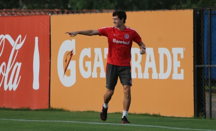 Rodrigo Dourado treino do Inter (Foto: Eduardo Deconto/GloboEsporte.com)