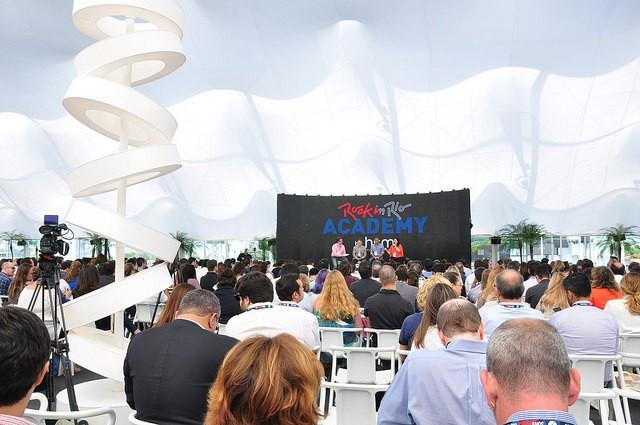 Primeira edição do Rock in Rio Academy by HSM aconteceu em 2015 (Foto: Rock in Rio)