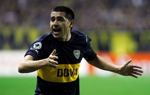 Riquelme Boca Junior x Newell's Old Boys (Foto: Reuters)