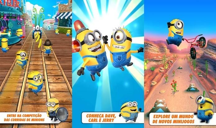 Gameloft inova com modo multiplayer em Minion Rush (Foto: Divulgação)