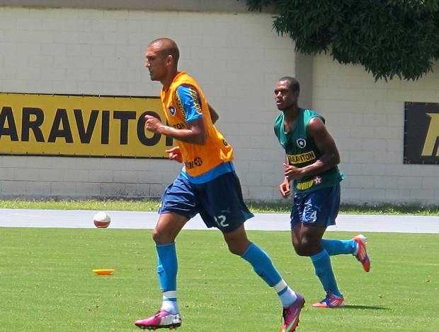 Rafael marques botafogo treino (Foto: Thales Soares)