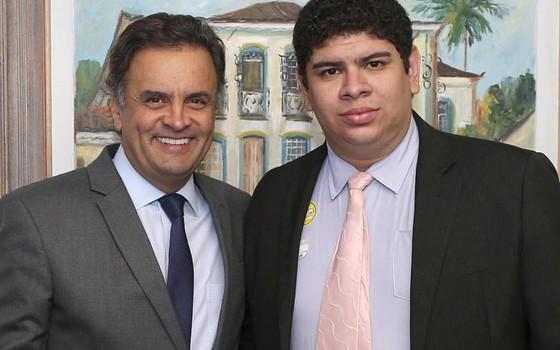 Novo presidente da Juventude do PSDB, André Morais, é alinhado com Aécio Neves (Foto: Reprodução)