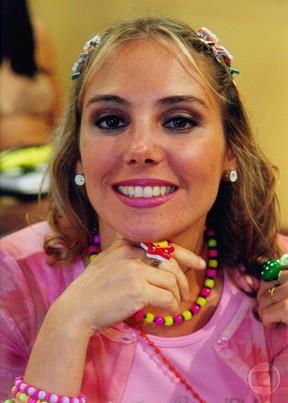 Heloísa Perissé como Tati na Escolinha do Professor Raimundo (Foto: CEDOC/Globo)